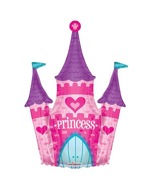Фигура из фольги Замок принцессы