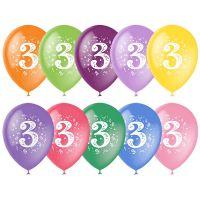 Шарики под потолок Цифра 3 (Три)