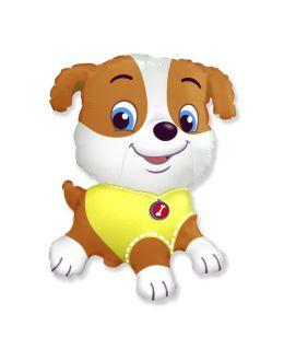Фигура из фольги щенок
