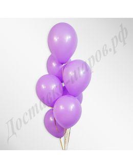 Сиреневые воздушные шары пастель