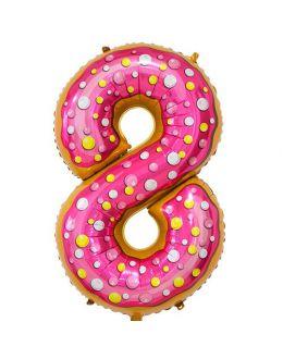 Шар Цифра 8 Пончик