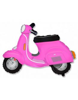 Скутер Розовый