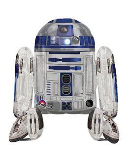 Ходячая фигура из фольги R2D2 (Звездные войны)