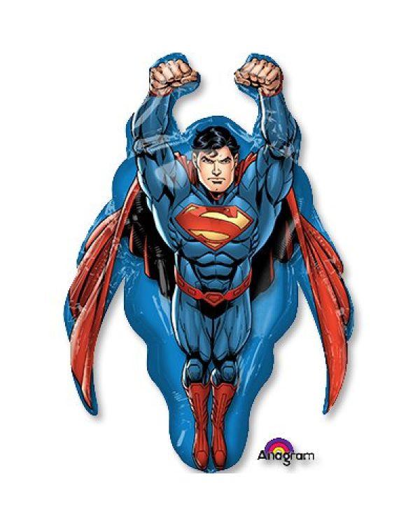 Фольгированная фигура Супермен летящий