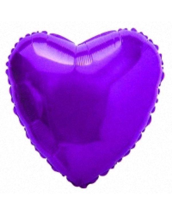 Фиолетовое Сердце из фольги