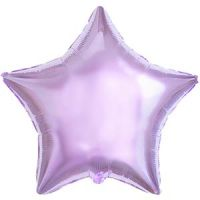 Сиреневая звезда из фольги