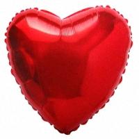Красное Сердце из фольги