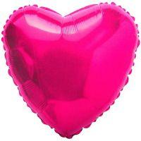 Розовое Сердце из фольги