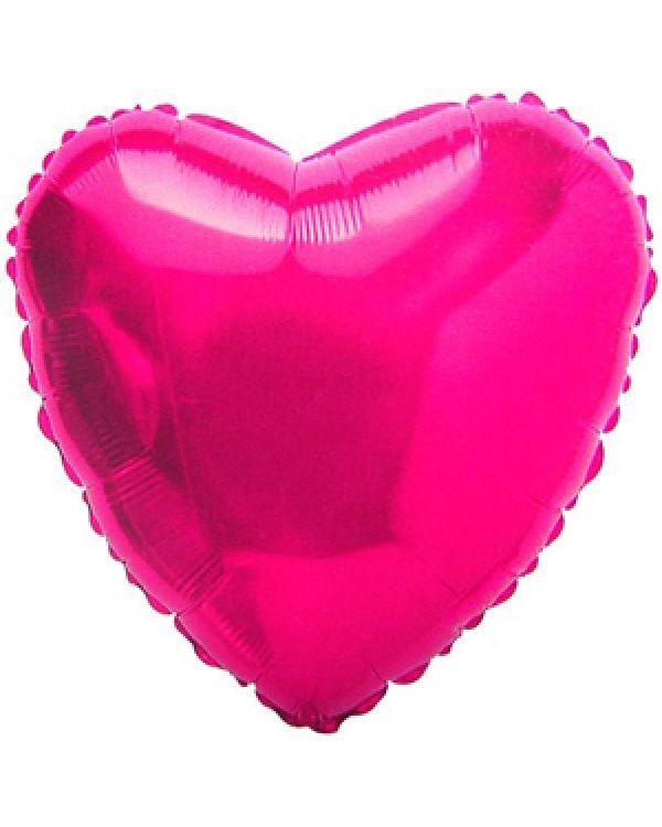 Сердце из фольги Фукси
