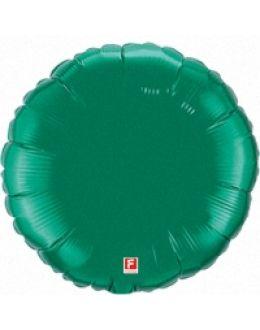 Зеленый круг из фольги