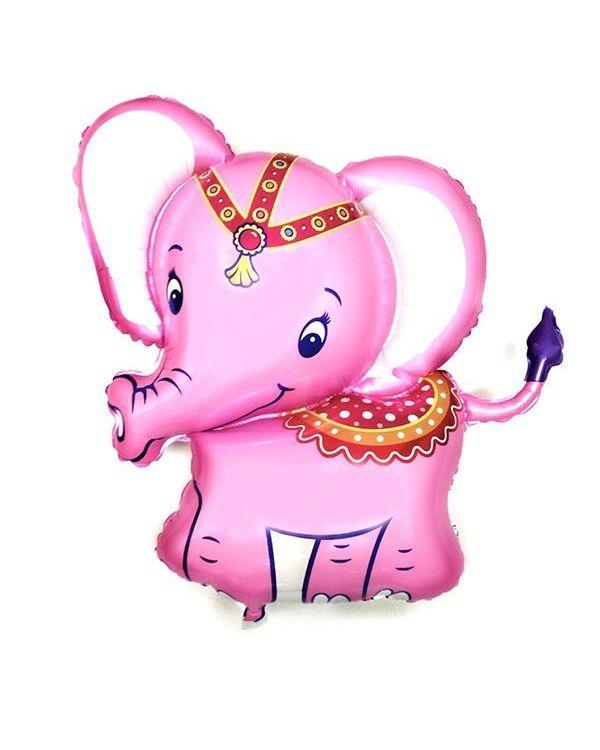 Слонёнок розовый