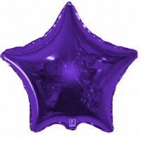 Фиолетовая звезда из фольги