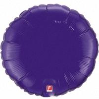 Фиолетовый круг из фольги