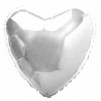 Серебряное Сердце из фольги