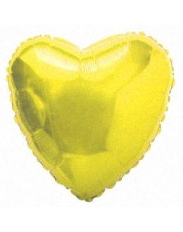Золотое Сердце из фольги