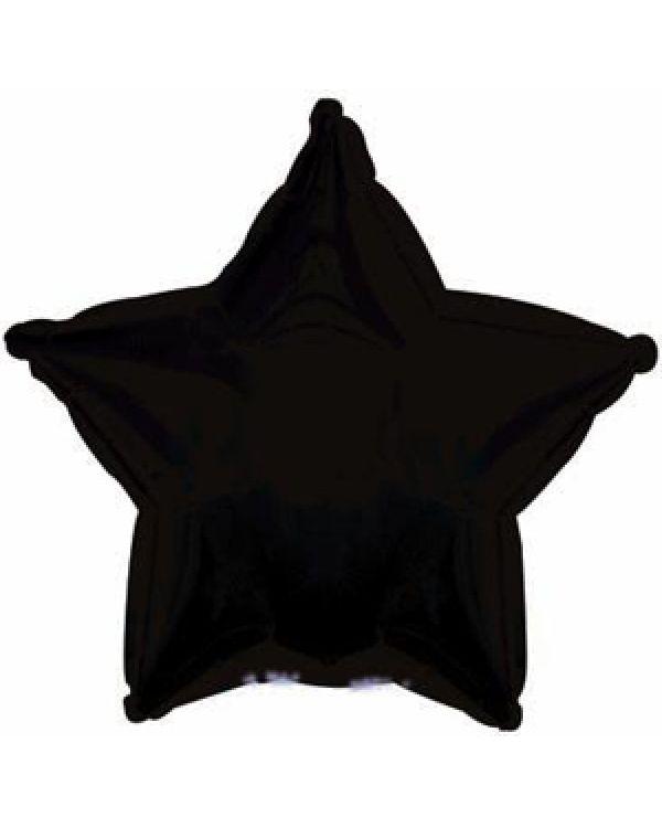 Черная звезда из фольги
