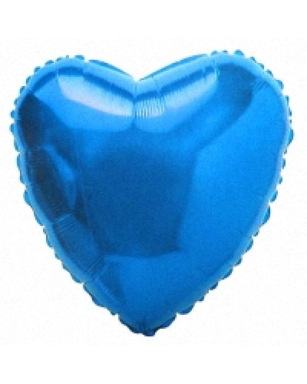 Синее Сердце из фольги