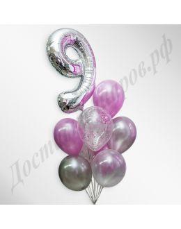 Композиция из воздушных шаров №26