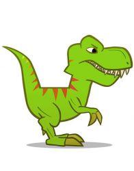 Шары динозавры