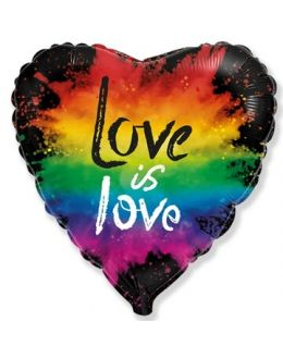 Сердце LOVE IS LOVE