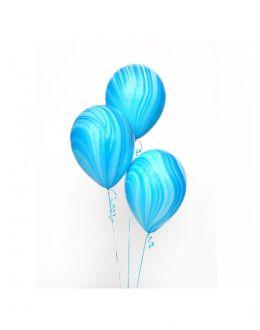 Воздушные шары Агат Biue