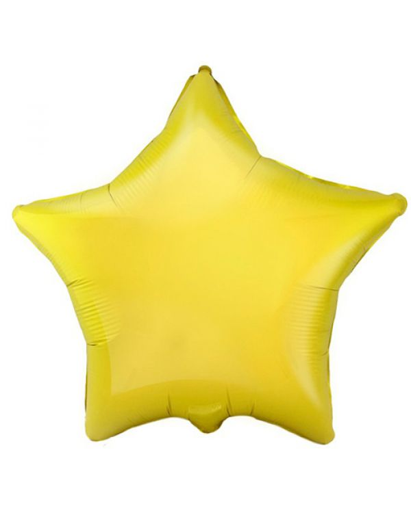 """Шар """"Звезда желтая"""""""