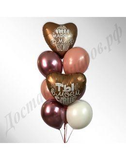 Композиция из воздушных шаров №37