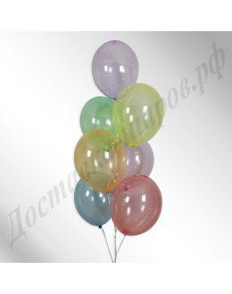 Воздушные шары Кристалл (ассорти)