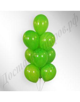 Воздушные шары Агат Green