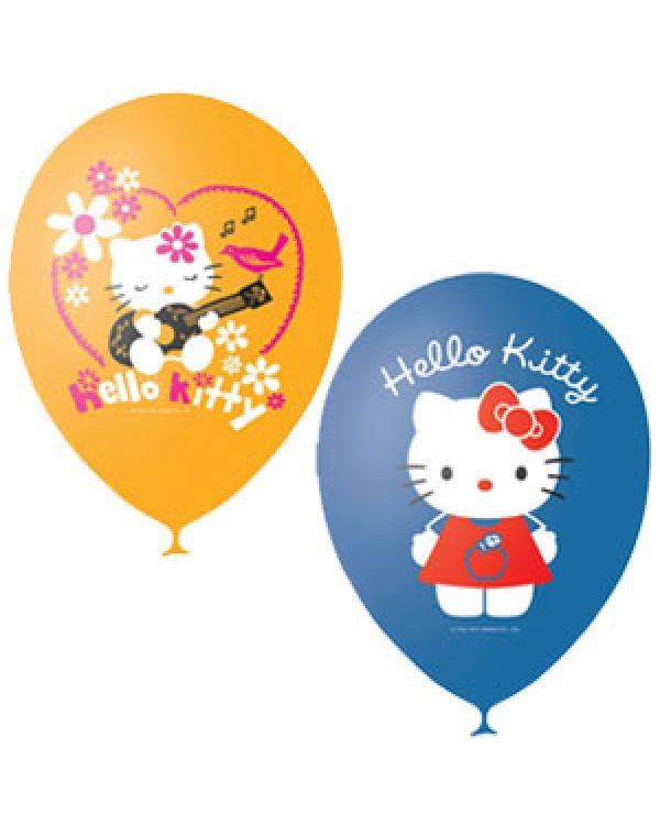 Шарики под потолок Кошечка Hello Kitty