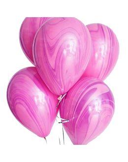 Воздушные шары Агат Pink Violet
