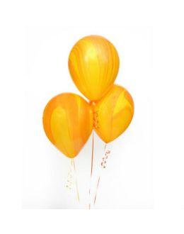 Воздушные шары Агат Yellow Orange
