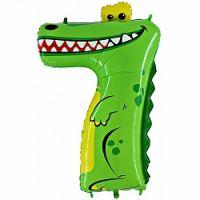 Цифра в виде Крокодила