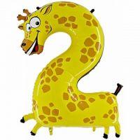 Цифра в виде Жирафа