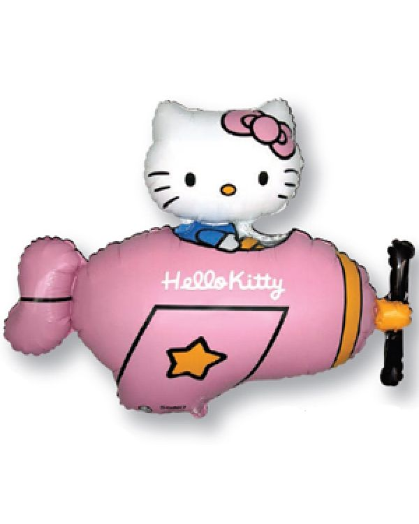 Hello Kitty в самолете