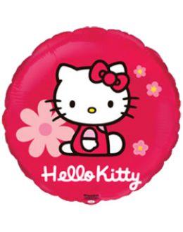 Круглый шар Hello Kitty (красный)