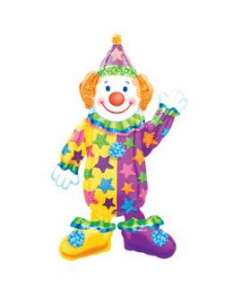 Ходячая фигура из фольги Клоун