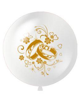Большой шарик Свадебные кольца