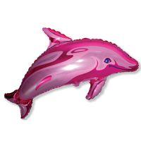 Дельфин Розовый