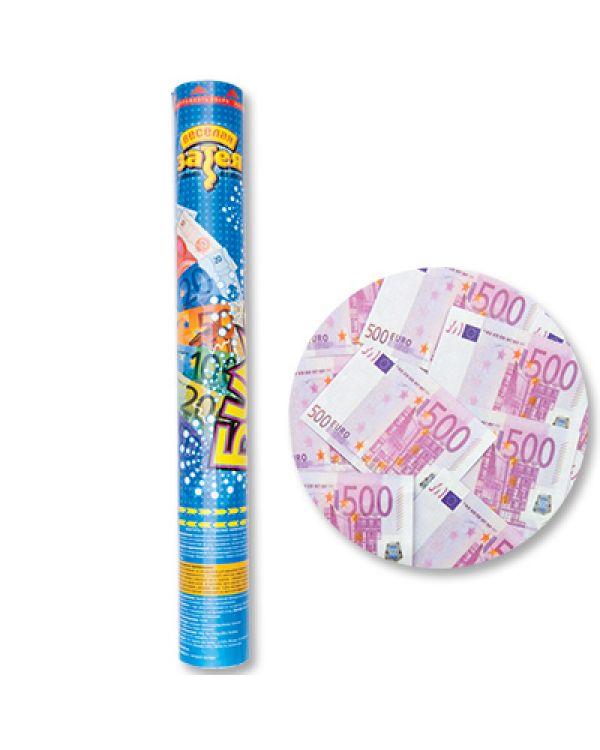 Хлопушка 40см Денежный Дождь Евро