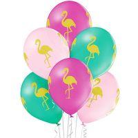 Шарики под потолок Фламинго
