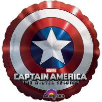 Круглый шар джамбо Капитан Америка
