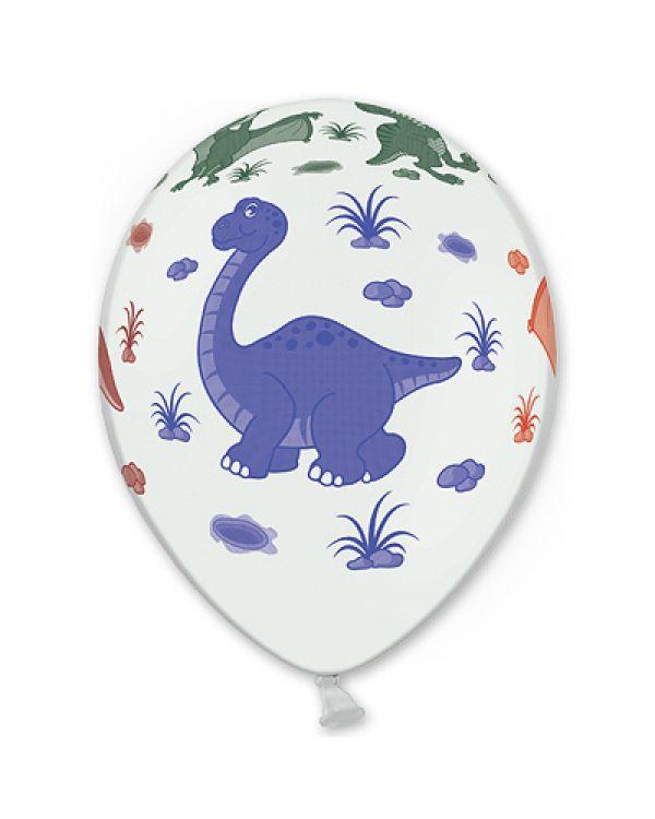 Шарики под потолок Динозаврики