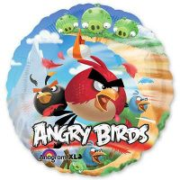Круглый шар Angry Birds