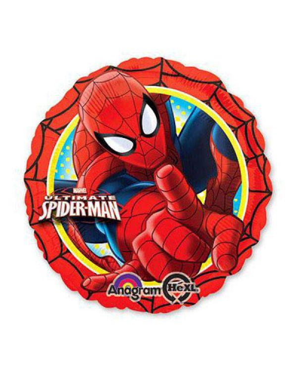 Круглый шар Человек-паук (красный)