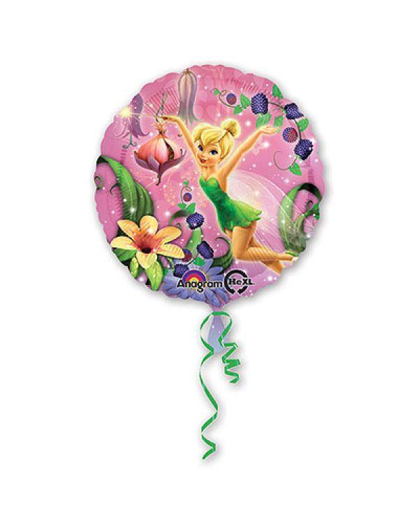 Круглый шар Фея Динь-Динь в саду