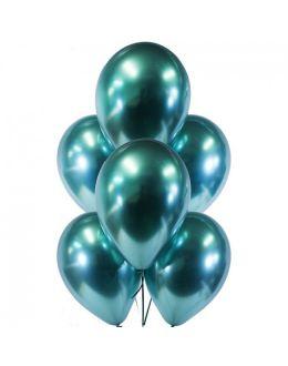 Воздушные шары Хром Зеленый